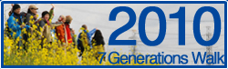 7 Genarations walk 2010